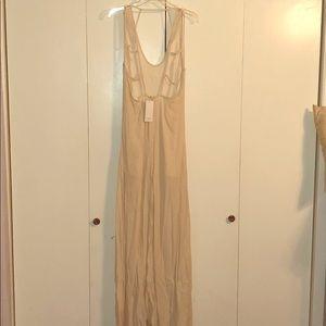 Cream Maxi Dress Size Large